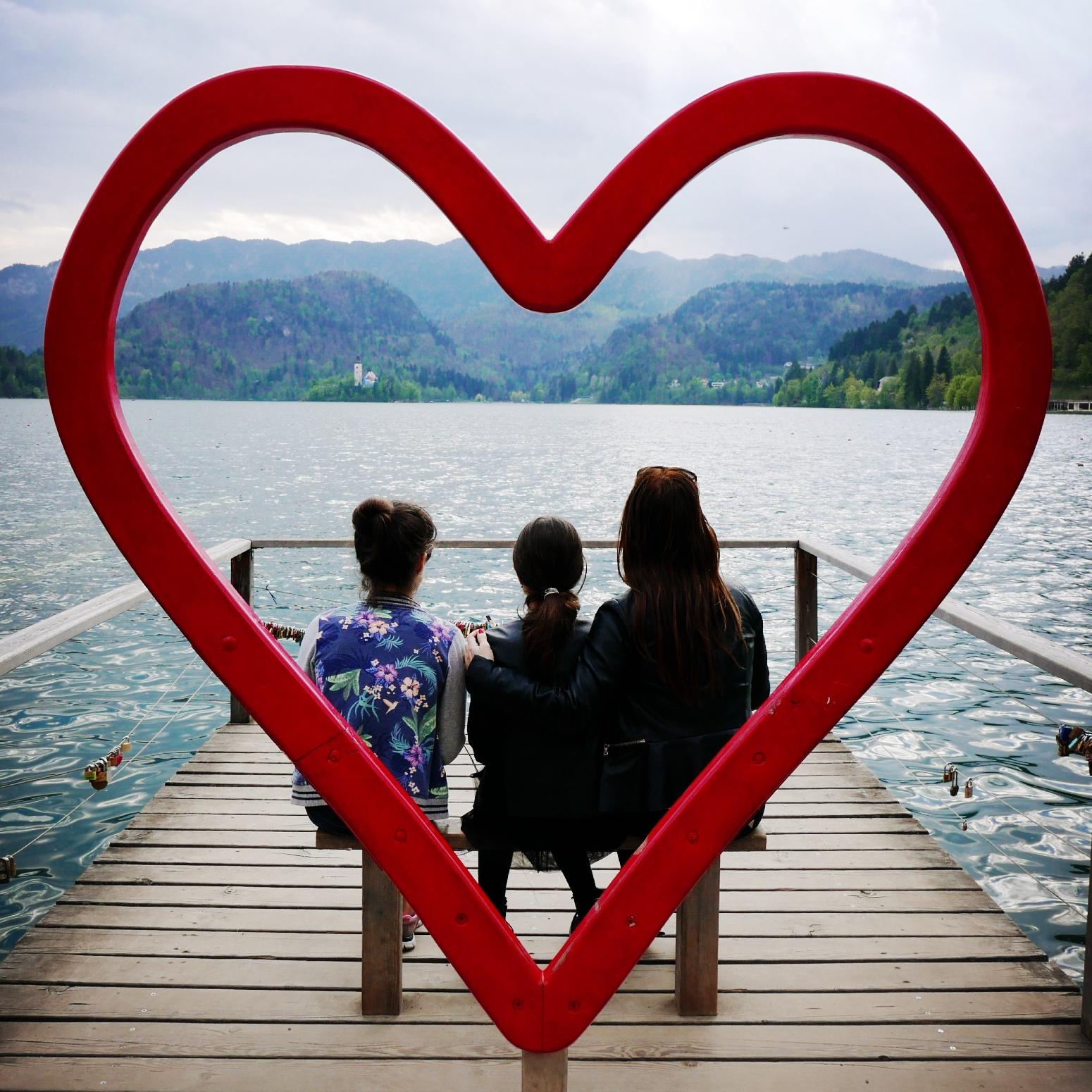 Húsvét a Bledi-tónál