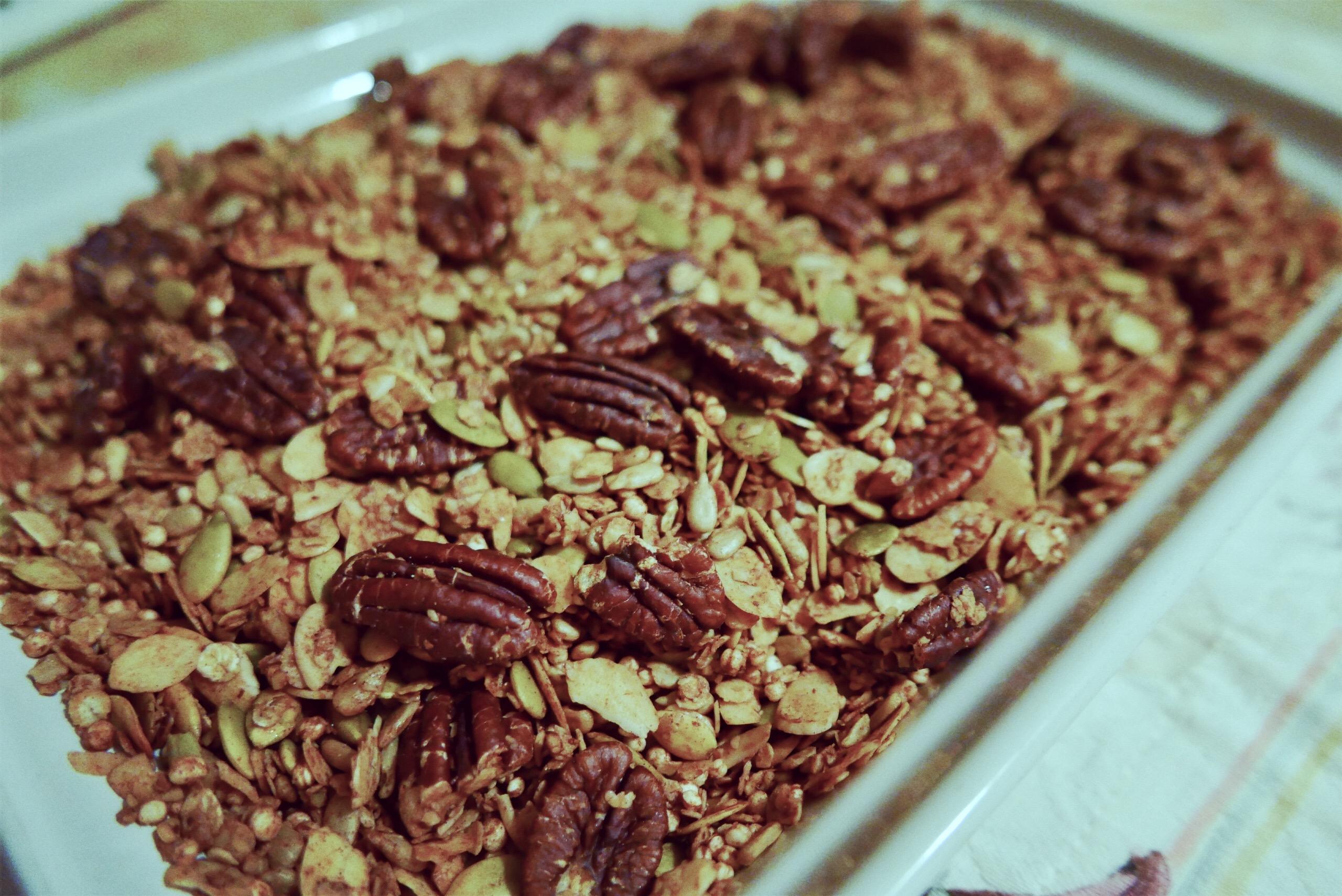Magok (nem csak madaraknak), avagy granola házilag